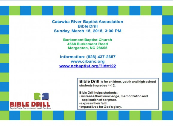 Bible Drill!